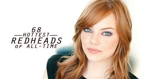 who is the sexy redheaded actress in the lumosity 68 hottest redheads of all time sexiest gingers photos
