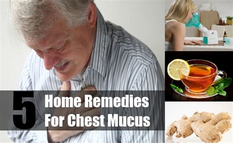 5 home remedies for chest mucus easy relief from chest