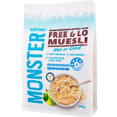 Moster Muesli Multigrain Porridge 700g muesli high fibre 500 gr sukanda djaya