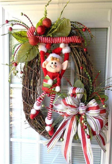 las 25 mejores ideas sobre adornos navide 241 os para puertas