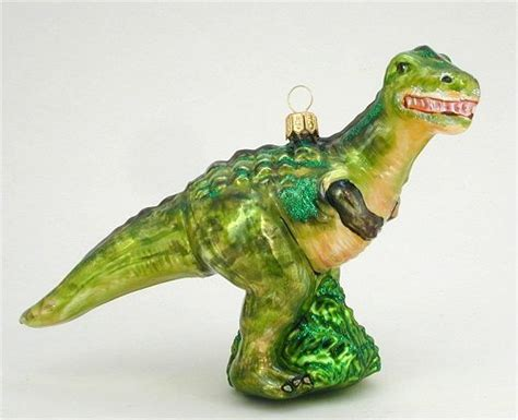dinosaur christmas tree ornaments