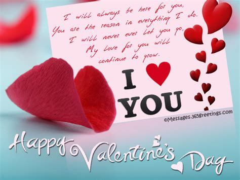 Happy Valentines Day Love Messages Quotes for My Sweet