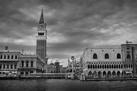 Venice Black black and white photography italy