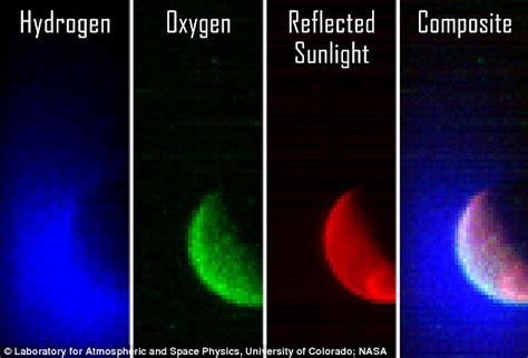what color is hydrogen nasa s maven spacecraft gets look at mars