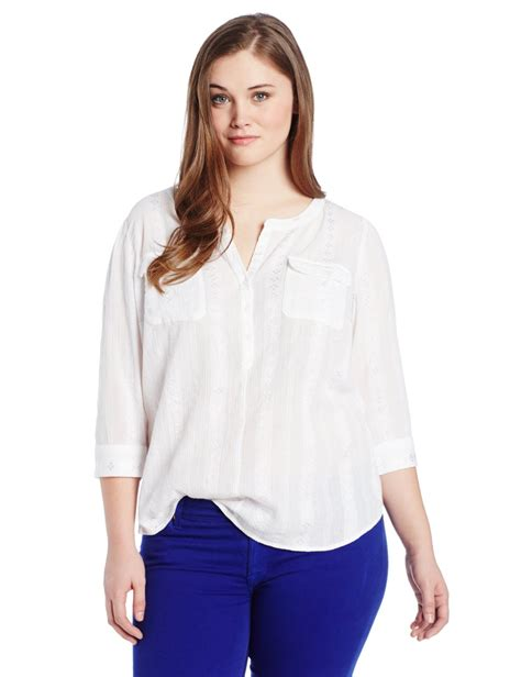 Find Plus White Blouses Plus Size Black Blouse