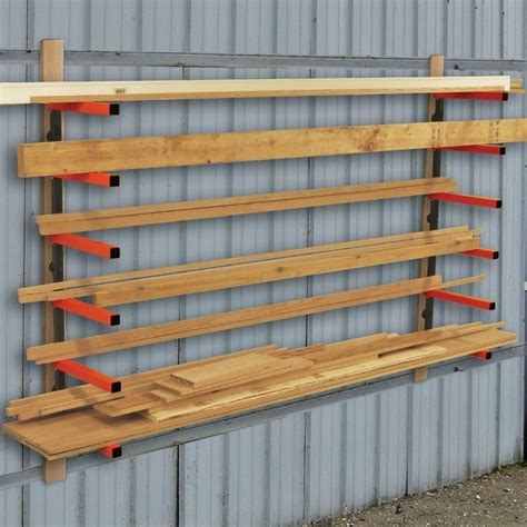 Rack It Lumber Rack by Portamate Lumber Rack System Rockler Woodworking Tools