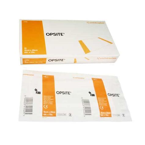 opsite incise drape opsite incise drape 4987 transparent film dressing 11 x 11