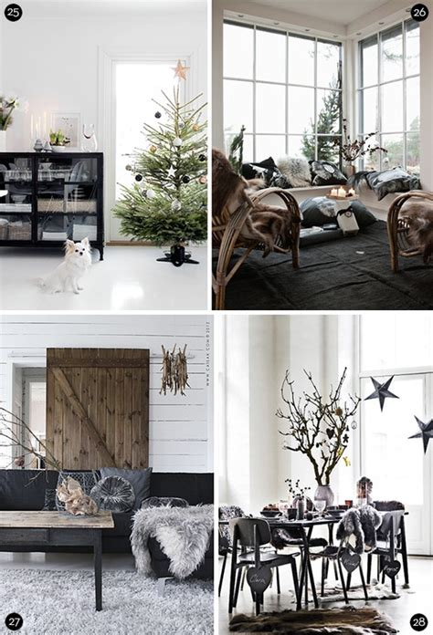 eye candy 40 scandinavian style christmas decor ideas