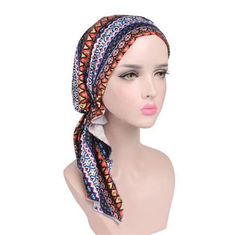 pre chemo sahara pre tied chemo head scarf chemotherapy cancer