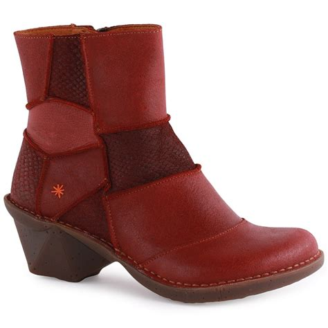 oteiza 663 womens ankle boots in wine