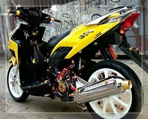 modifikasi vario    techno cw fi esp airbrush ban
