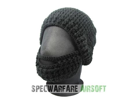 Tactical Beard Brown specwarfare airsoft tboc tactical beard hat black cap black beard