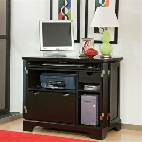 printer armoire bedford ebony compact computer armoire www