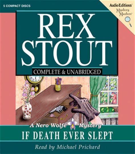 If Slept Nero Wolfe if slept nero wolfe 29 by rex stout