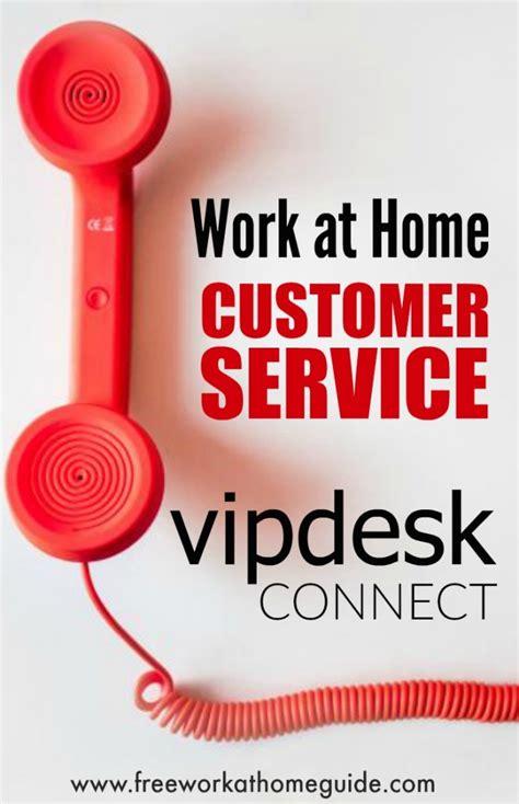 vipdesk connect make money taking customer service calls
