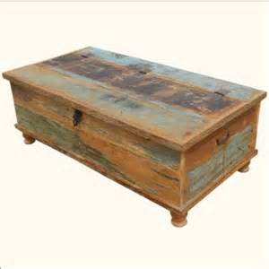 Distressed Chest Coffee Table Distressed Trunk Coffee Table Myideasbedroom