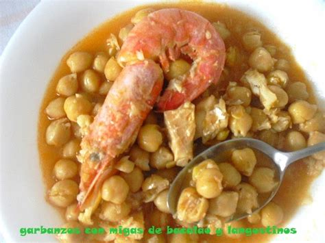 las recetas de mi abuela bacalao con salsa las recetas de mi abuela garbanzos con migas de bacalao y langostinos
