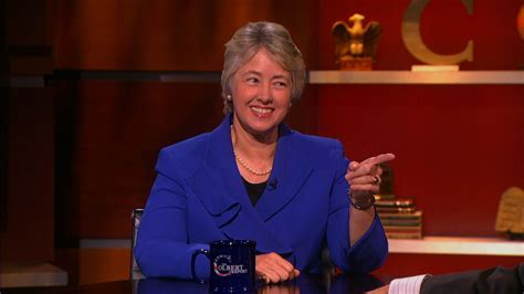 the colbert report 05 14 annise parker the colbert report comedy central