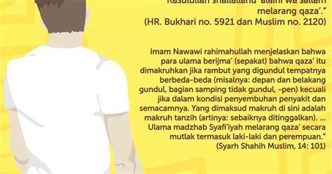 Model Rambut Qaza by Hukum Rambut Mohawk Dan Qaza Meraih Ilmu Syar I