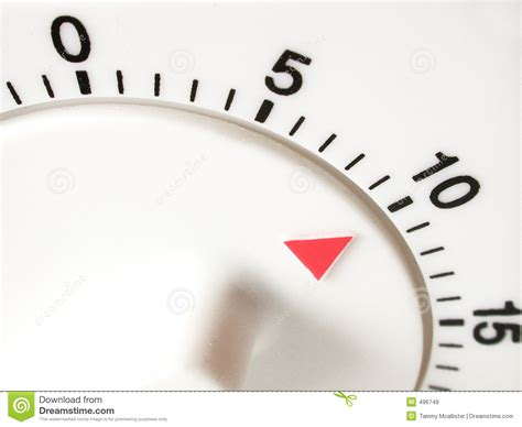 timer 10 mintues ten minutes on timer stock image image of chrono