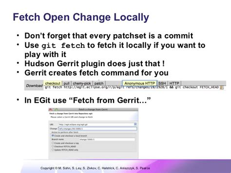 tutorial git fetch effective git eclipsecon 2011 tutorial