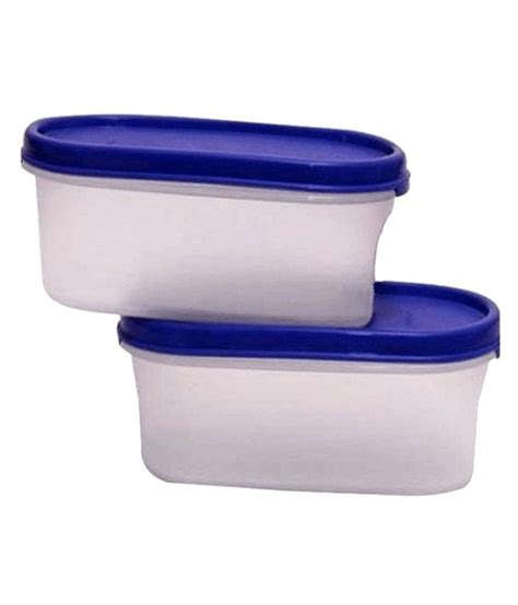Tupperware Modular Set buy tupperware set of 2 modular mates oval shape container on snapdeal paisawapas