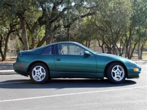 nissan 300zx 2000 buy used 1996 nissan 300zx green in dallas united