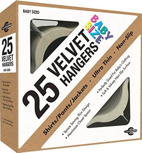 Closet Complete Velvet Baby Hangers by Closet Complete Baby Size Ultra Thin No Slip Velvet