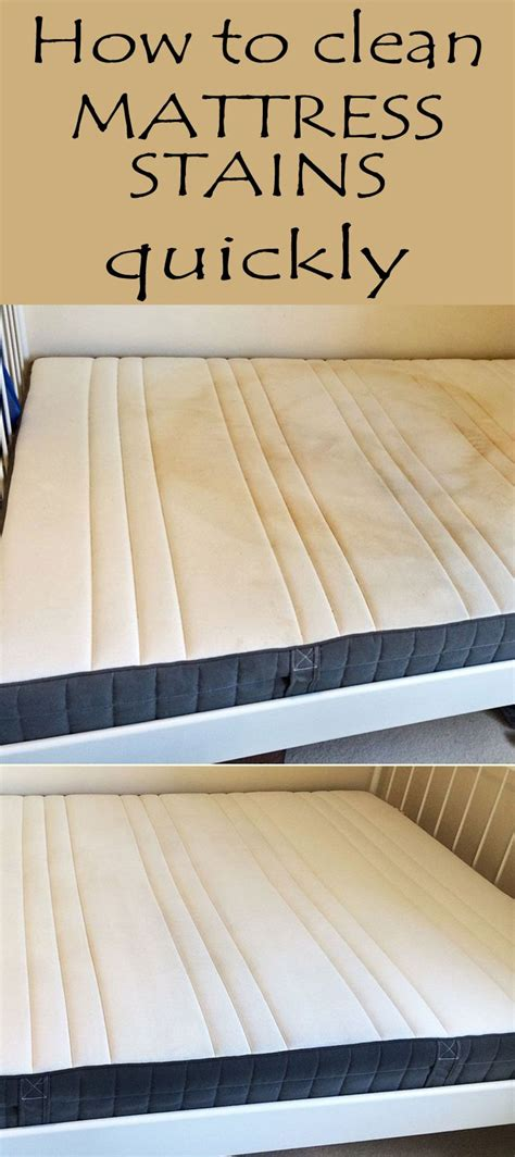 How To Remove Stains From Mattress With Vinegar by 25 Best Ideas About Mattress Stains On Clean