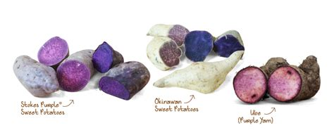 different types of purple the ultimate purple sweet potato guide frieda s inc