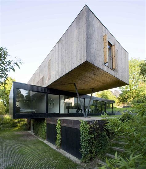 cantilever home contemporary cantilever house design by paris architects