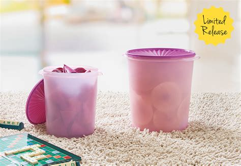Tupperware Ukuran Besar maxi canister set tupperware promo terbaru tupperware