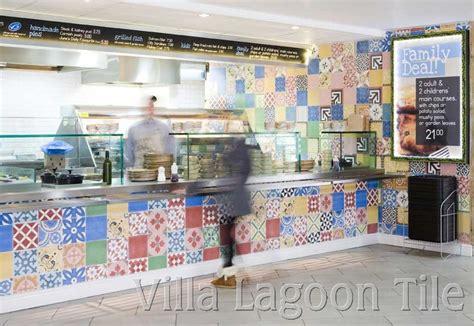 Patchwork Shop Uk - commercial cement tile photo tour villa lagoon tile