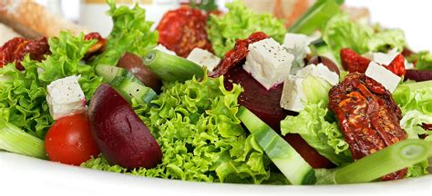 vegetables types of salaad list of salads