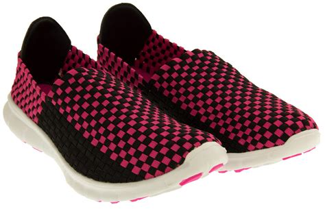 woven elastic shoes gola womens stretchy woven elastic running shoes