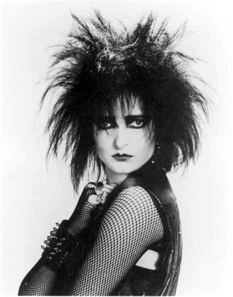 SIOUXSIE SIOUX hairstyle   BakuLand   Women & Man fashion blog