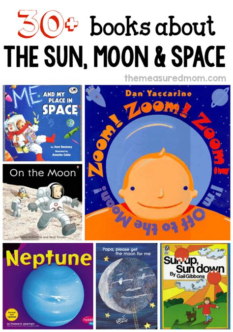 literature themes for preschool 30 fabulous books to read for a space theme sun about