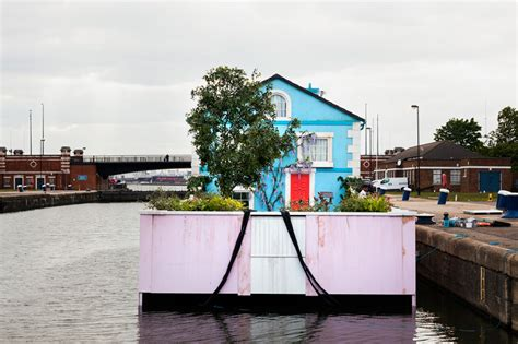 airbnb uk london airbnb s floating house sets sail along the river thames
