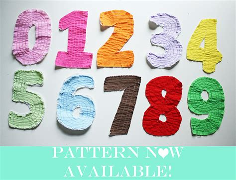 pattern numbers and letters rag quilt letters numbers tutorial