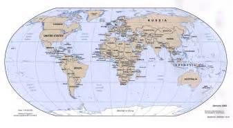 Full World Map by Cia Political World Map 2002 Mapsof Net