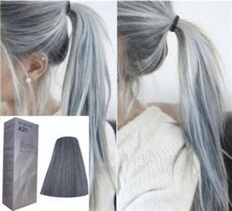pictures of grey hairstyles with permanent berina hair professional permanent hair dye color cream