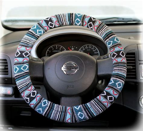 tribal pattern steering wheel cover 86 best car accessories for girls images on pinterest