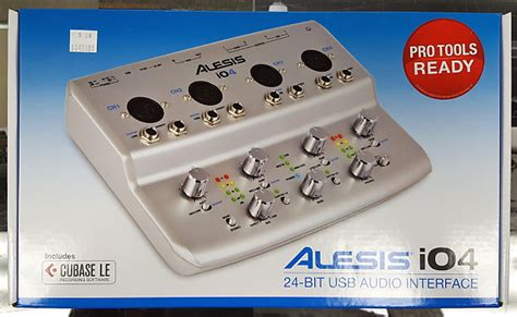 alesis io4 review alesis i04 4 channel audio interface 2014 silver alesis