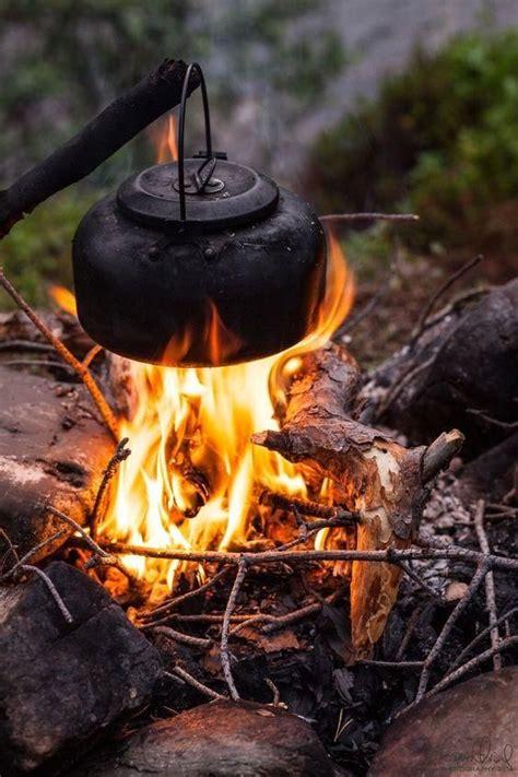 campfire cooking drink outdoor outdoor life bushcraft