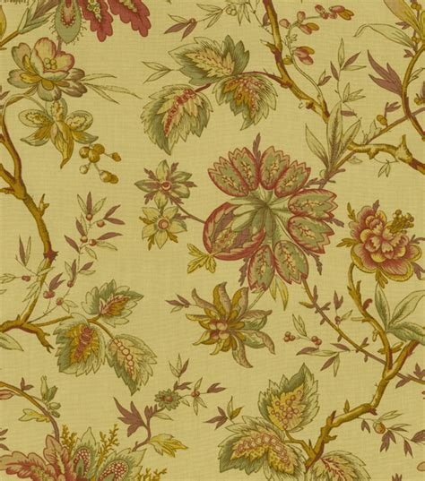 home decor print fabric waverly felicite hazelnut jo