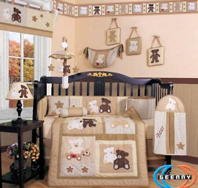 teddy bear nursery curtains lily full queen quilted bedding brand packages raymond