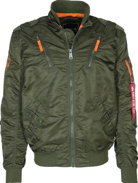 Jual Jaket Bomber Alpha Industries alpha industries falcon ii bomber jacket olive