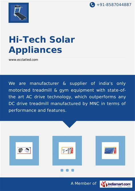 hi tech solar led lights by hi tech solar appliances by j balajee