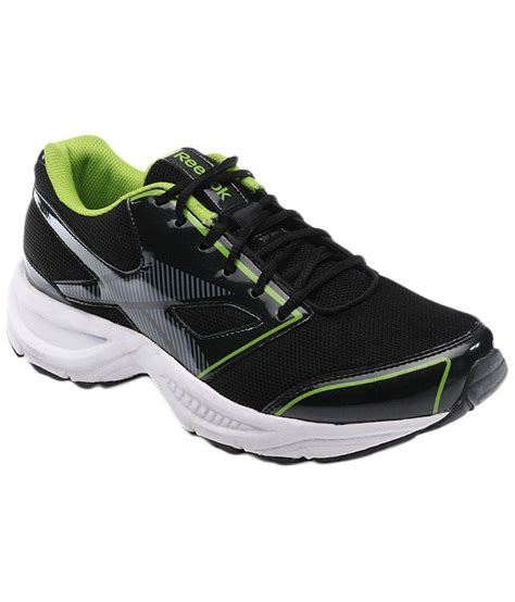 sports shoes reebok reebok black green sports shoes price in india buy