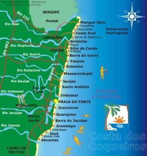 bahia costa dos coqueiros roteiros da bahia costa dos coqueiros fusos
